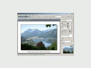 Eigenständige Software zur umfangreichen Nachbearbeitung von Bildern.