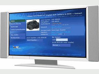 Das Tool ermöglicht die Benutzung von eBay über Windows XP Media Center