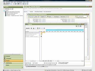 Netzwerkfähige Software für Projektzeiterfassung mit Benutzerverwaltung