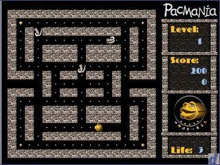Gut gemachter PacMan Clone.