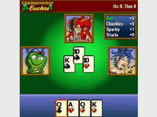 Kartenspiel in dem Sie mit Ihrem Spielpartner drei Stiche machen müssen