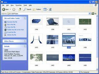 Ermöglicht Ihnen im Windows Explorer eine Vorschau auf Flash-Dateien