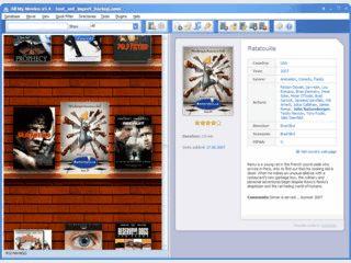 Software zur Katalogisierung von Filmsammlungen