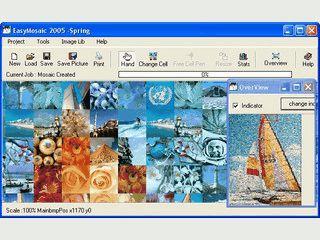 Tolle Software um ein Mosaik-Bild aus vielen Einzelbildern zu generieren.