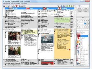 TVBrowser ist eine kostenlose TV-Programm Software