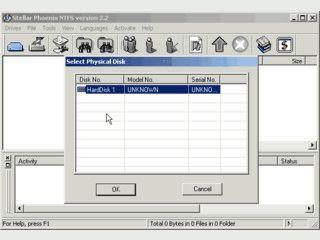 Wiederherstellung von NTFS Partitionen