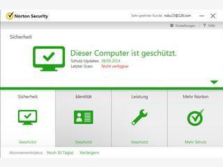 Norton Security bietet Schutz vor Viren, Spyware und anderen Bedrohungen