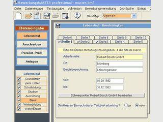 Bewerbungssoftware speziell  für Ausbildungsstellen und Praktika