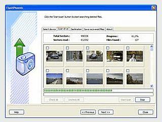 Software zur Wiederherstellung von Dateien auf Digitalkamera-Speicherkarten