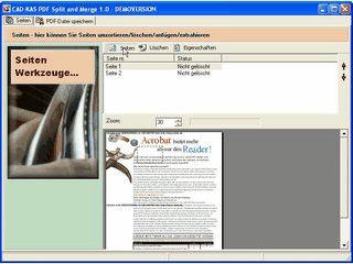 PDF Dateien in einzelne Seiten aufsplitten oder PDF Dateien zusammenfügen