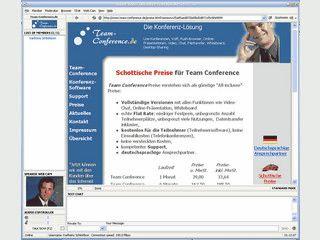 Conference-Software für Online-Konferenzen mit Chat, VoIP, Video usw.