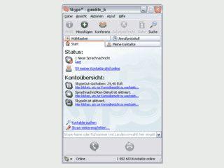 Skype ist eine P2P Internettelefonie Software