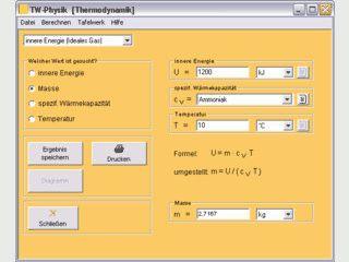 Lösen physikalischer Aufgaben und Konvertieren von verschiedenen Maßeinheiten