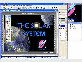 Multimedia Autoren-System zur Erstellung von EXE und SCR Dateien.