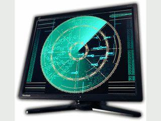 Der Screensaver zeigt ein konfigurierbares Radar auf Ihrem Bildschirm