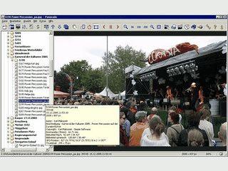Komfortabler Bildbetrachter und -Browser, auch für Panorama- und HDR-Bilder