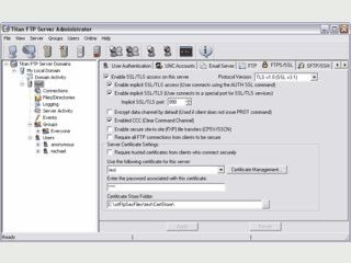 FTP-Server Software zur Einrichtung beliebig vieler verschiedener FTP-Server