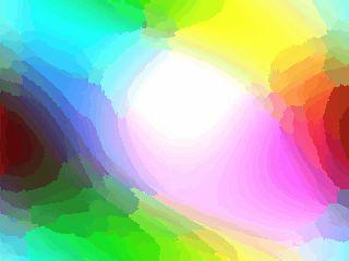 Bunte Farben mit weichen Übergängen als Bildschirmschoner