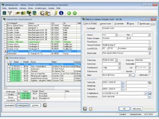 Adressverwaltungssystem für Adressen, Termine und Dokumente.