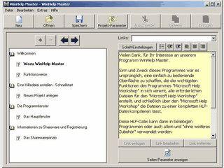 Editor zum Erstellen von Windows Hilfedateien