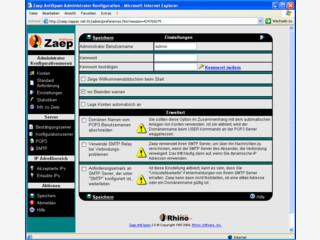 Spamschutz durch lokalen Spamschutz-Server