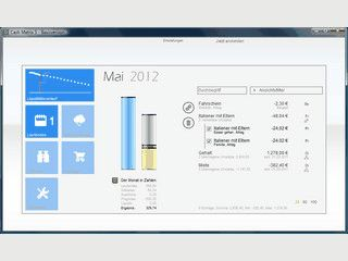 Tool zur einfachen Erfassung, Verwaltung und Analyse privater Finanzen.