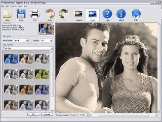 Sammlung mit fünf Anwendungen rund um die digitale Bildbearbeitung