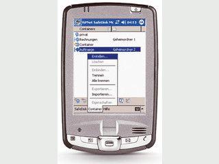 Verschlüsselte virtuelle Speicherkarte für den Pocket PC