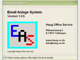 Speichert Anlagen aus Emails in einem separaten Verzeichnis und verlinkt diese