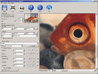 Tool zur Vergrößerung von Bildern oder einzelnen Ausschnitten.
