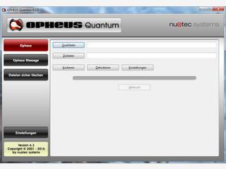 Verschlüsselung von beliebigen Dateien und Textnachrichten.