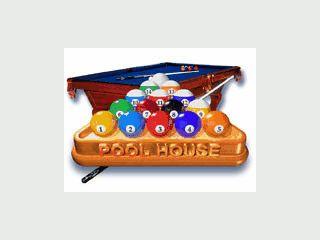 Zahlreiche verschiedene Pool-Varianten können Sie spielen.
