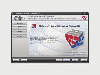 Konvertierung zwischen PostgreSQL - und Microsoft Access-Datenbanken
