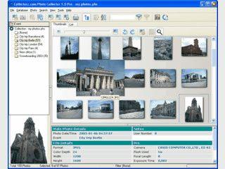 Verwaltung von Digitalphotos mit Erstellung von Slideshows und HTML Gallerien