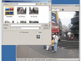 Betrachter für Multimediadateien, speziell Bilder. Unterstützt ca. 50 Formate.