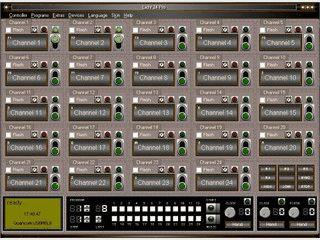 Licht24 Pro ist eine Steuersoftware für Relaiskarten und digitale IO Karten