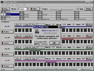 Kompositions-Software für Midi Musik.