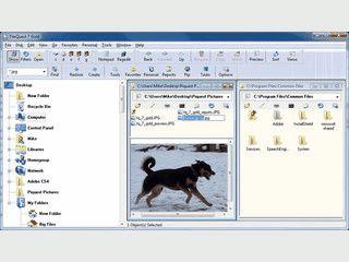 Guter Ersatz für den Windows Explorer mit nützlichen Funktionen.