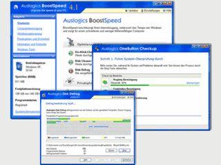 Mehr Tempo für Windows. Mit dem Ein-Klick Optimierer aber auch viele Profitools.