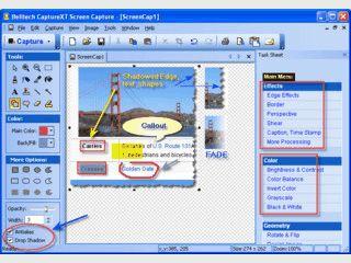 Screencapture-Tool mit Zeichenwerkzeugen