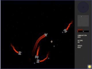 Spaceshooter der ein wenig an Asteroids erinnert