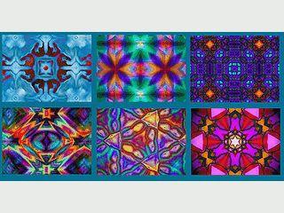 34 Bilder die wie der Blick durch ein Kaleidoskop aussehen