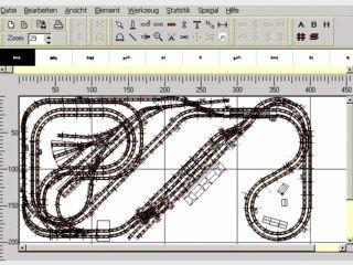 Software zur Planung von Modell- und Autorennbahnen