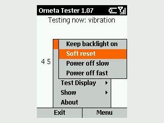 Systemtool zum Test verschiedener Eigenschaften eines Smartphones