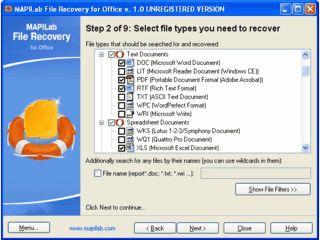 Wiederherstellung von Microsoft Office Dokumenten