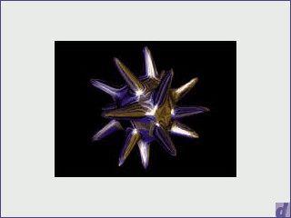 Ein rotierendes, sternähnliches Objekt