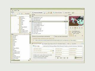 Konvertiert SWF Dateien als EXE Dateien, AVI, animiertes GIF oder als Einzelbild