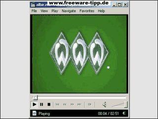 Kostenloser Player der auf installierte WiedergabeCodecs zugreift