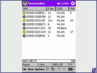 Genialer W-Lan Finder mit GPS Unterstützung für Pocket PCs