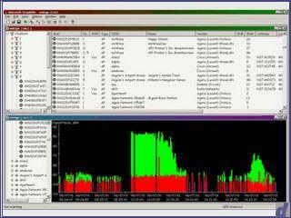 W-Lan Scanner der alle verfügbaren W-LANs anzeigt. Mit GPS Unterstützung.